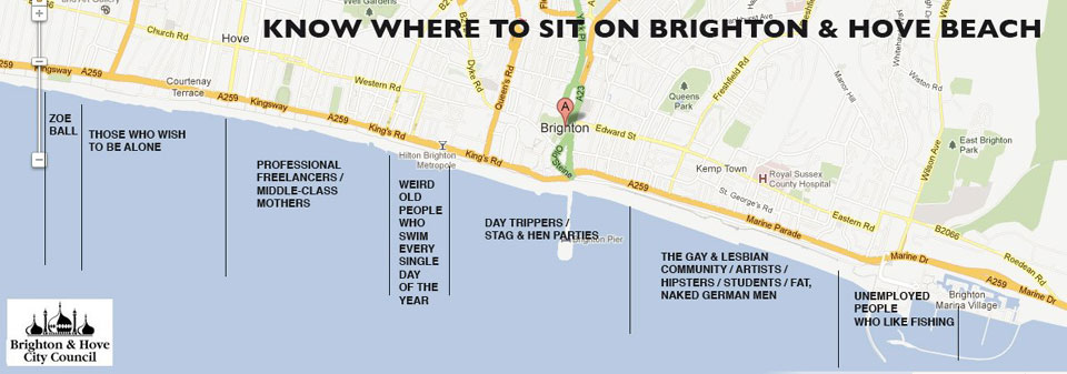Brighton and Hove  Beach Guide