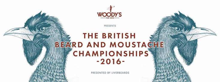 The British Beard and Moustache Championships 2016 Saturday October 15th St. Georges Hall, Liverpool
