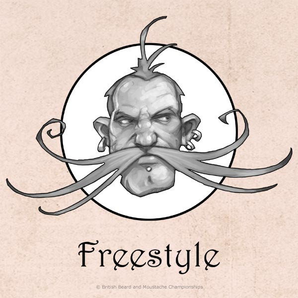 Freestyle Moustache Category